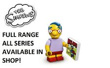 Lego minifigures milhouse van houten simpsons 1 (71005) new factory sealed