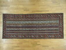 "6'5""x15'6"" Antique Northwest Persian With Shawl Design Wide Runner Rug R34421"