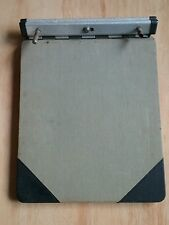 Vintage Binder Invoice Purchase Order Holder TA-7 Green Black Star Line