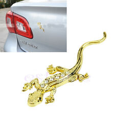 3D Gecko Chrome Badge Emblem Forme Decal Stickers Autocollant Motor Truck or