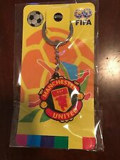 New Manchester United badge football soccer keychain key chain ring souvenir