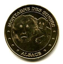 67 KINTZHEIM Montagne des singes 6, Mère et son petit, 2010, Monnaie de Paris