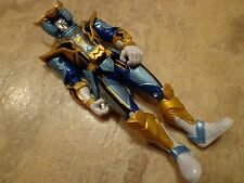 2006 BANDAI--POWER RANGERS--MYSTIC FORCE SOLARIS KNIGHT BLUE RANGER FIGURE(LOOK)