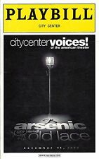 "Alec Baldwin ""ARSENIC AND OLD LACE"" Joanne Woodward / Celeste Holm 2000 Playbill"