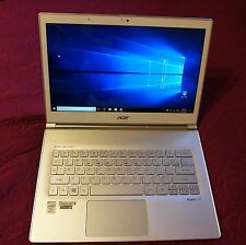 "Acer Aspire S7-392 13"" Full HD Touch Ultrabook Core i7 8GB 256GB SSD Great Cond"