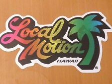 Surfboard sticker Jumbo Local Motion vintage style surfing decal surf Shortboard