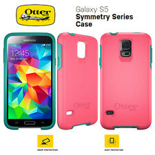 For Samsung Galaxy S5 Genuine Otterbox Symmetry Series Shockproof Case Cover