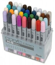 Too Copic Ciao Markers 36 Colors Set E New Free Shipping w/Tracking Manga Anime