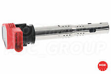 New NGK Ignition Coil For AUDI R8 42 4.2 FSI Spyder Convertable 2010-13