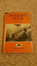 VERY RARE 1st edition Richard Walker WALKERS PITCH 1959 HB with DJkt