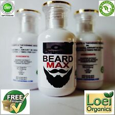 FACIAL HAIR BEARD GROWTH SERUM GROW MUSTACHE SIDEBURN EYEBROW GINSENG SEAWEED