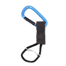Water Bottle Holder Buckle Hook Aluminium Carabiner Key Chain Camping Travel