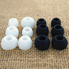 S M L Replacement Silicone In-ear Earphone Headphone Earbuds Bud Gel Rubber Tips