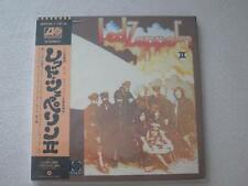 LED ZEPPELIN II JAPAN MINI LP CD JIMMY PAGE ROBERT PLANT SEALED