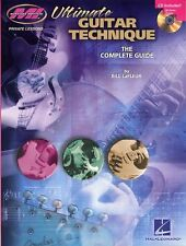 Ultimate Guitar Technique Complete Guide Learn Play Metal Rock Music Book &CD