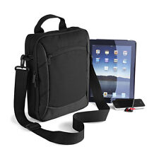 EXECUTIVE IPAD/TABLET CASE (QD264) - SHOULDER BAG - BLACK