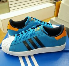Adidas Superstar II  Solid Blue / Running White  Men's US Size 10