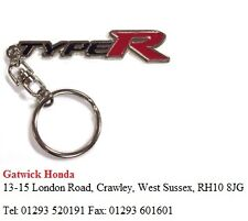 CARS KEY FOBS GENUINE NEW HONDA TYPE R LOGO KEYRING PHND0088100