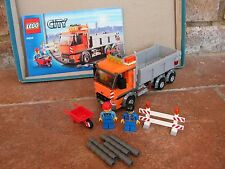 Lego City – 4434 Dump Truck – Instructions – Complete - 2012 – Retired Set