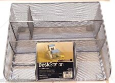 Design Ideas Desk Station, Mesh, Silver, FAST FREE SHIPPING. LIMITED GREAT DEAL!