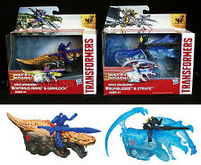 NEW Transformers DINO SPARKERS - Optimus Prime-  BUMBLEBEE - Grimlock - STRAFE