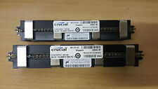 4GB (2x 2GB) Crucial PC2-5300F 667MHz DDR2 ECC Mac Pro 1.1 2.1 Ram CT25672AP667