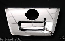 CHROME TAILGATE HANDLE SURROUND COVER TRIM FOR NISSAN FRONTIER NAVARA D40 05-14