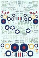 Dutch Profile Decals 1/72 & 1/48 DUTCH INDIES PRESENTATION SPITFIRES & SEAFIRES