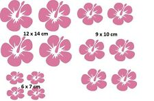 Auto Aufkleber Blume Orchidee Flower 16 St. JDM Sticker Tuning Folie Decal Pink