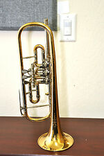 MAKE OFFER! Bohm & Meinl Symphonic Bb Rotary Trumpet - FREE SHIPPING!