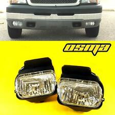 2003-2006 Chevy Silverado 1500/2500 Avalanche Clear Fog Lights Driving Bump Lamp