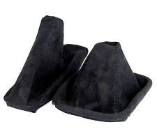 Schaltsack+ Handbremsmanschette passend für BMW E 46  aus ALCANTARA schwarz