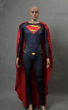 Superman Man of Steel Licensed Adult Men's Jumpsuit Cosplay Costume
