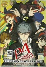 DVD P4 PERSONA THE ANIMATION TRUE END-NO ONE IS ALONE THE MOVIE + 1 FREE ANIME