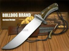 BULLDOG Diamond Limited Edition Deer Stag Bowie Hunter Stainless Knives Knife