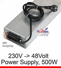 AC DC ADAPTER POWER SUPPLY NETZTEIL 48V 48 VOLT 500WATT