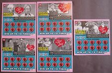 I Love Lucy Instant SV Lottery Ticket Set from TX issued in 2005