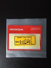 Genuine Honda Shift Decal Z50 ST70 Monkey Bike Dax C50 Chaly Dax English Model