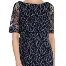 BNWT��Coast��Size 6 Navy Blue Mia Lace Dress Wedding Cruise Races Cocktail New