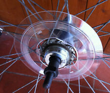 Cycle / Bike Clear Plastic Spoke Protector for 32H Rear Hub