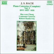 J.S. Bach: Complete Piano Concertos Vol. 2, New Music