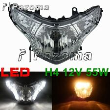 Headlight Head Light with H4 Bulbs w/ LED For 2008-2013 Honda CBR 250R CBR250R