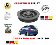 FOR VAUXHALL OPEL ZAFIRA 2.0 Di  2.2 DTi 16V 1999-  CRANKSHAFT BELT PULLEY PULLY