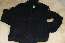 BOYS ABERCROMBIE KIDS A&F CALAMITY POND NAVY JACKET COAT XL X-LARGE NWT