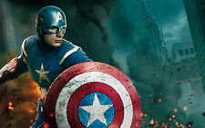 The avengers captain america wall art poster 260GSM A4