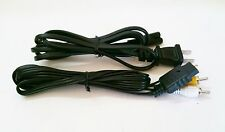 5  AV Cable & 5  AC Power Adapter Cord SET for Playstation 1 or 2