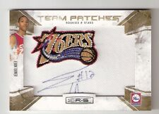 EVAN TURNER 10/11 R&S Team Patches auto rookie #160 serial #01/25