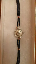 LONGINES 14K SOLID GOLD CASE Ladies Wristwatch 1960's workins and keeps time