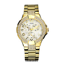 NEW GUESS WATCH for Women * Gold Prism * Swarovski Crystal * I16540L1 / G13537L