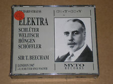 RICHARD STRAUSS (SCHLÜTER, HÖNGEN) - ELEKTRA - BOX 2 CD SIGILLATO (SEALED)